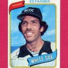 1980 Topps Baseball #702 Ed Farmer - Chicago White Sox ExMt