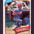 1980 Topps Baseball #701 Ken Oberkfell RC - St. Louis Cardinals NM-M