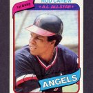 1980 Topps Baseball #700 Rod Carew - California Angels NM-M