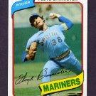 1980 Topps Baseball #699 Floyd Bannister - Seattle Mariners