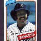 1980 Topps Baseball #698 Oscar Gamble - New York Yankees ExMt