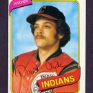 1980 Topps Baseball #697 David Clyde - Cleveland Indians ExMt