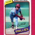1980 Topps Baseball #692 Rawly Eastwick - Philadelphia Phillies NM-M