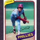 1980 Topps Baseball #692 Rawly Eastwick - Philadelphia Phillies Ex