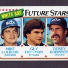 1980 Topps Baseball #664 Mike Colbern / Guy Hoffman / Dewey Robinson - Chicago White Sox ExMt