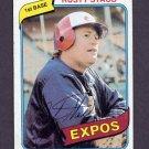 1980 Topps Baseball #660 Rusty Staub - Montreal Expos Vg