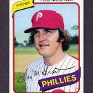 1980 Topps Baseball #655 Tug McGraw - Philadelphia Phillies