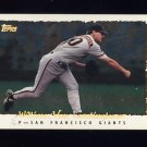 1995 Topps Baseball Cyberstats #379 William Van Landingham - San Francisco Giants