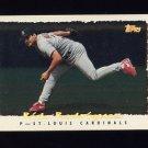 1995 Topps Baseball Cyberstats #372 Rich Rodriguez - St. Louis Cardinals