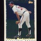 1995 Topps Baseball Cyberstats #345 Steve Bedrosian - Atlanta Braves