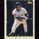 1995 Topps Baseball Cyberstats #338 Carlos Rodriguez - Boston Red Sox