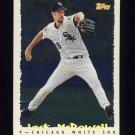 1995 Topps Baseball Cyberstats #337 Jack McDowell - Chicago White Sox