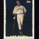 1995 Topps Baseball Cyberstats #325 Jeff Cirillo - Milwaukee Brewers