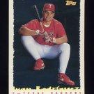 1995 Topps Baseball Cyberstats #324 Ivan Rodriguez - Texas Rangers