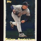 1995 Topps Baseball Cyberstats #323 Brian Anderson - California Angels
