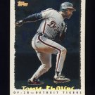 1995 Topps Baseball Cyberstats #322 Tony Phillips - Detroit Tigers