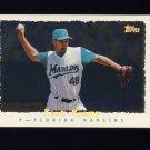 1995 Topps Baseball Cyberstats #287 Pat Rapp - Florida Marlins