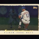 1995 Topps Baseball Cyberstats #254 Bret Saberhagen - New York Mets