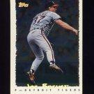 1995 Topps Baseball Cyberstats #252 Joe Boever - Detroit Tigers