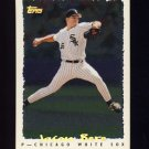 1995 Topps Baseball Cyberstats #240 Jason Bere - Chicago White Sox