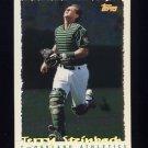 1995 Topps Baseball Cyberstats #238 Terry Steinbach - Oakland A's
