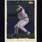 1995 Topps Baseball Cyberstats #223 Lee Smith - Baltimore Orioles