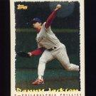 1995 Topps Baseball Cyberstats #220 Danny Jackson - Philadelphia Phillies