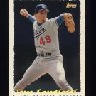 1995 Topps Baseball Cyberstats #216 Tom Candiotti - Los Angeles Dodgers