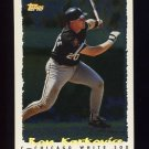 1995 Topps Baseball Cyberstats #197 Ron Karkovice - Chicago White Sox