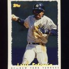 1995 Topps Baseball Cyberstats #176 Luis Polonia - New York Yankees