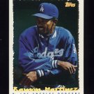 1995 Topps Baseball Cyberstats #148 Ramon Martinez - Los Angeles Dodgers