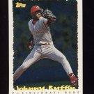1995 Topps Baseball Cyberstats #146 Johnny Ruffin - Cincinnati Reds
