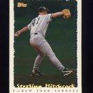 1995 Topps Baseball Cyberstats #145 Sterling Hitchcock - New York Yankees