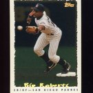 1995 Topps Baseball Cyberstats #144 Bip Roberts - San Diego Padres