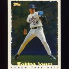 1995 Topps Baseball Cyberstats #139 Bobby Jones - New York Mets