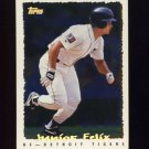 1995 Topps Baseball Cyberstats #135 Junior Felix - Detroit Tigers