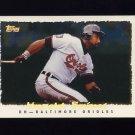1995 Topps Baseball Cyberstats #130 Harold Baines - Baltimore Orioles