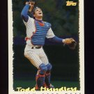 1995 Topps Baseball Cyberstats #125 Todd Hundley - New York Mets