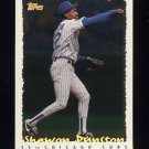 1995 Topps Baseball Cyberstats #122 Shawon Dunston - Chicago Cubs