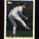 1995 Topps Baseball Cyberstats #119 Jeff Montgomery - Kansas City Royals