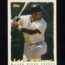 1995 Topps Baseball Cyberstats #118 Eddie Williams - San Diego Padres