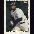 1995 Topps Baseball Cyberstats #117 Mo Vaughn - Boston Red Sox
