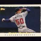 1995 Topps Baseball Cyberstats #115 Kent Mercker - Atlanta Braves