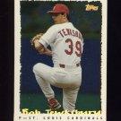 1995 Topps Baseball Cyberstats #111 Bob Tewksbury - St. Louis Cardinals
