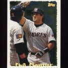 1995 Topps Baseball Cyberstats #102 Phil Plantier - San Diego Padres