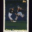 1995 Topps Baseball Cyberstats #098 Alex Fernandez - Chicago White Sox