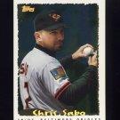 1995 Topps Baseball Cyberstats #084 Chris Sabo - Baltimore Orioles