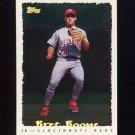 1995 Topps Baseball Cyberstats #073 Bret Boone - Cincinnati Reds