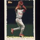 1995 Topps Baseball Cyberstats #066 Mariano Duncan - Philadelphia Phillies