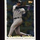 1995 Topps Baseball Cyberstats #057 Charlie Hayes - Colorado Rockies